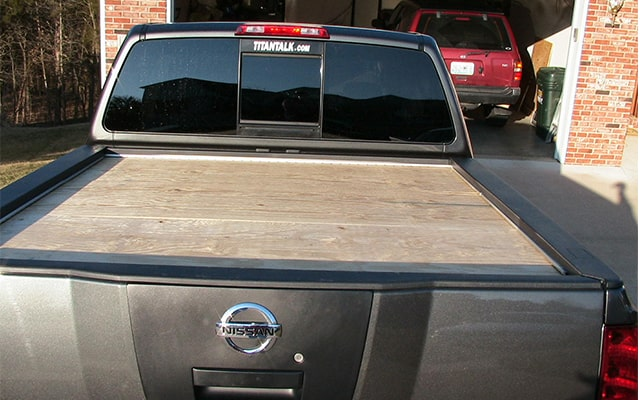 How To Make A Homemade Wood Truck Bed Tonneau Cover