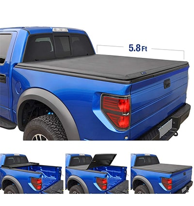 best tri fold tonneau cover