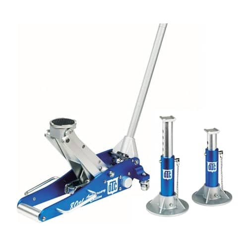 OTC 1533 Aluminum Racing Jack Kit with 2-Ton Jack
