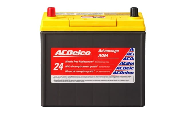 Best Car Battery ACDelco ACDB24R AGM Automotive Battery