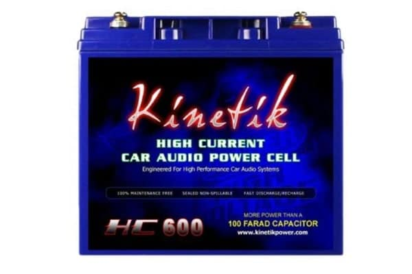 Best Car Battery Kinetik HC600 Battery