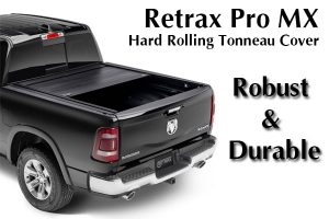 Retrax Pro MX Hard Rolling Tonneau Cover - Robust & Durable